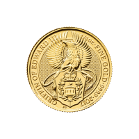 1/4 oz 2017 Royal Mint Queen's Beasts | Griffin of Edward III Gold Coin