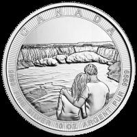10 oz 2017 Royal Canadian Mint Canada the Great Series | Niagara Falls Silver Coin