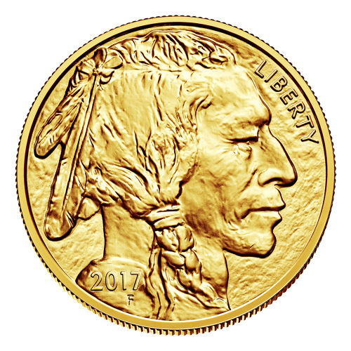 """Image taken from the 1913 Buffalo nickel featuring a Native American and the words """"Liberty 2017"""""""