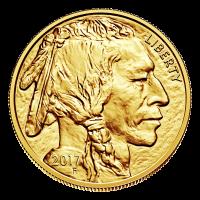 1 oz 2017 Buffalo Gold Coin