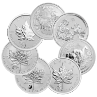 1 oz Our Choice of Assorted Sovereign Mint Privy Mark Uncirculated Silver Coin