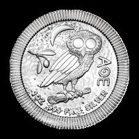 1 oz 2017 Athenian Owl Stackable Silver Coin