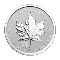 1 oz 2017 Canadian Maple Leaf Moose Privy Reverse Proof Silver Coin