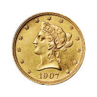 Random Year $10 Liberty Eagle AU Gold Coin