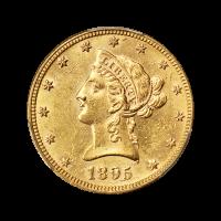 Random Year $10 Liberty Eagle MS-61 Gold Coin