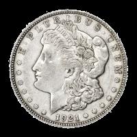 1921 Morgan Silver Dollar VG+ Silver Coin