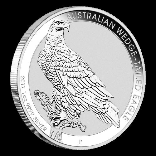 1 oz 2017 Australian Wedge Tailed Eagle Silver Coin