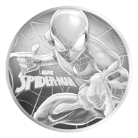 1 oz 2017 Spiderman Silver Coin