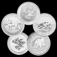 1.5 oz Random Year Our Choice of Royal Canadian Mint Silver Coin
