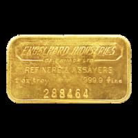 1 oz Engelhard Industries of Canada Vintage Gold Bar