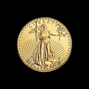 1/4 oz Random Year American Eagle Gold Coin