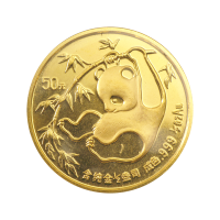 1/2 oz 1985 Chinese Panda Gold Coin