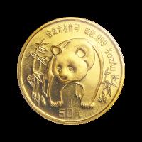 1/2 oz 1986 Chinese Panda Gold Coin