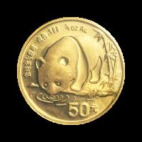 1/2 oz 1987 Chinese Panda Gold Coin
