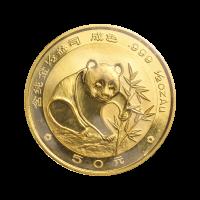 1/2 oz 1988 Chinese Panda Gold Coin