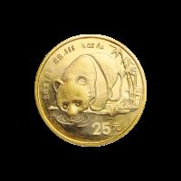 1/4 oz 1987 Chinese Panda Gold Coin