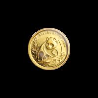 1/20 oz 1990 Chinese Panda Gold Coin