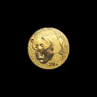 1/20 oz 2001 Chinese Panda Gold Coin