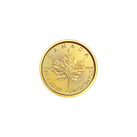 1/20 oz 2018 Canadian Maple Leaf Gold Coin
