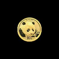 1 gram 2018 Chinese Panda Gold Coin