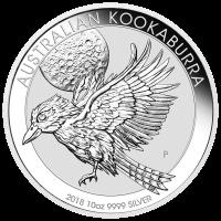 10 oz 2018 Australian Kookaburra Silver Coin