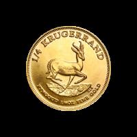 1/4 oz Random Year Krugerrand Gold Coin