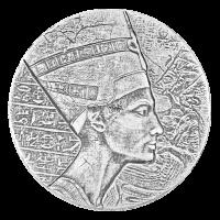 5 oz 2017 Egyptian Relic Series | Queen Nefertiti Silver Coin