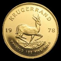 1 oz 1978 Krugerrand Gold Coin