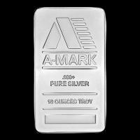 10 oz A-Mark Silver Bar