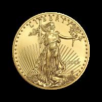 Moneda de Oro Águila Americana 2018 de 1/2 oz