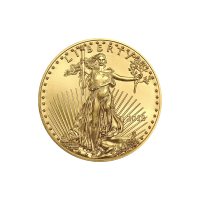 Moneda de Oro Águila Americana 2018 de 1/4 oz