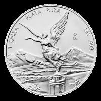 1 oz Silbermünze - mexikanische Libertad - Zufallsjahr
