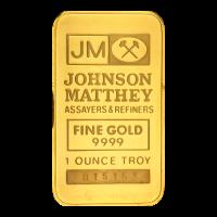 1 oz Johnson Matthey TD Bank Gold Bar