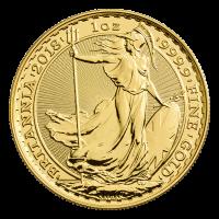 1 oz 2018 Britannia Gold Coin