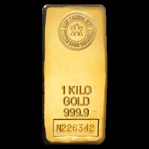1 kg | Kilo | Royal Canadian Mint Gullbarre
