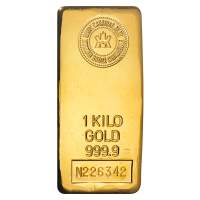 1 kg | Kilo | Royal Canadian Mint Gold Bar