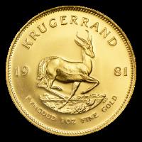 1 oz 1981 Krugerrand Gold Coin