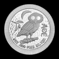 1 oz 2018 Athenian Owl Stackable Silver Coin