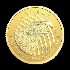 1 oz 2018 Call of the Wild Series | Golden Eagle Gold Coin