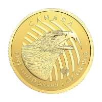 1 oz 2018 Call of the Wild Series | Golden Eagle Gold Coin