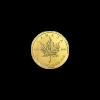 1 gram 2018 MapleGram25 Single Gold Coin
