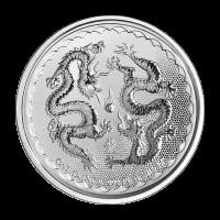 1 oz 2018 Niue Double Dragon Silver Coin
