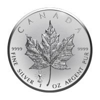 1 oz 2018 Canadian Maple Leaf Light Bulb Privy Reverse Proof Silver Coin