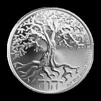 Moneda de Plata Árbol de la Vida Niue 2018 de 1 oz