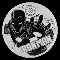1 oz 2018 Iron Man Silver Coin