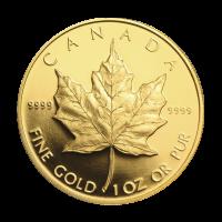 1 oz 1989 Commemorative Maple Leaf Gold Coin