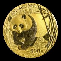 1 oz 2002 Chinese Panda Gold Coin