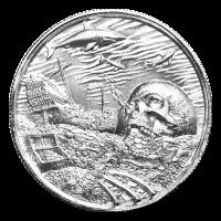 2 oz Privateer Collection | Davy Jones Locker Ultra High Relief Silver Round