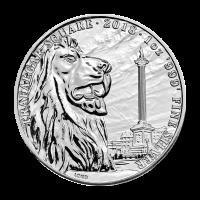 1 oz 2018 Landmarks of Britain | Trafalgar Square Silver Coin