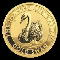 Moneda de Oro Cisne Australiano 2018 de 1 oz